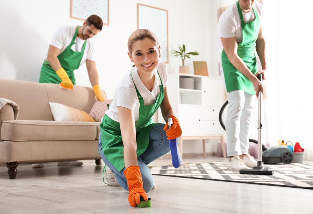 Grand nettoyage du printemps: faire appel à une entreprise de nettoyage